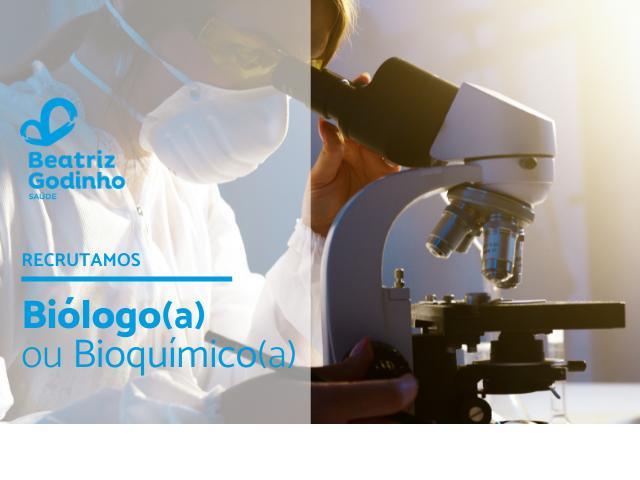 BIO SEIA 05 2021 - Biólogo/Bioquímico (M/F)